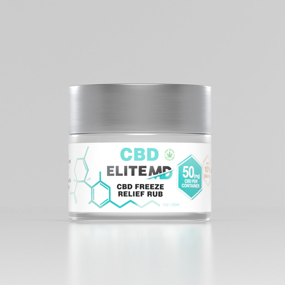 CBD Freeze Relief Rub