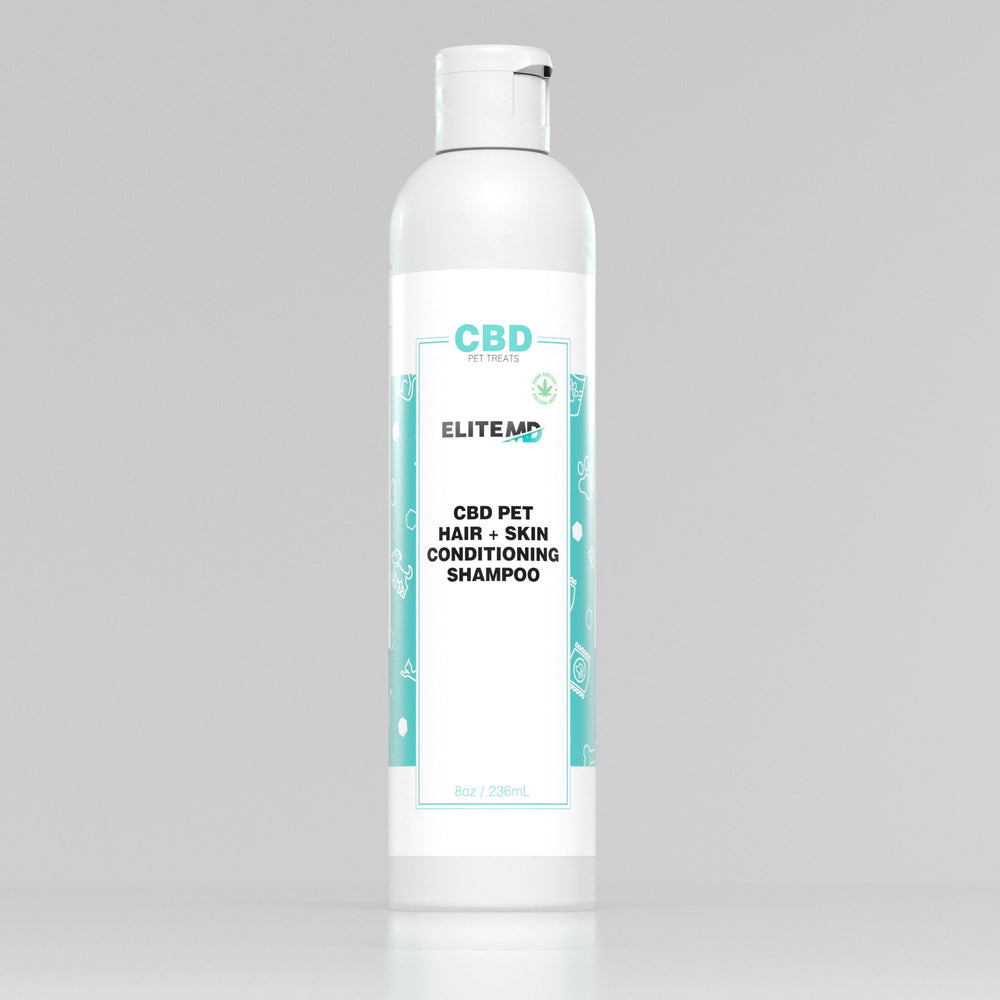 CBD Pet Hair + Skin Conditioning Shampoo