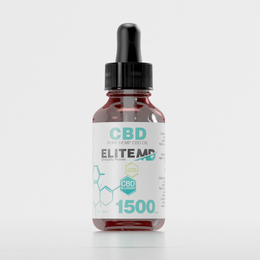 CBD Vape Oil - 1500mg Citrus Flavor