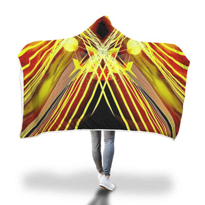 Time Traveler Hooded Blanket