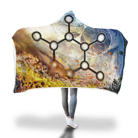 Carbon Hooded Blanket