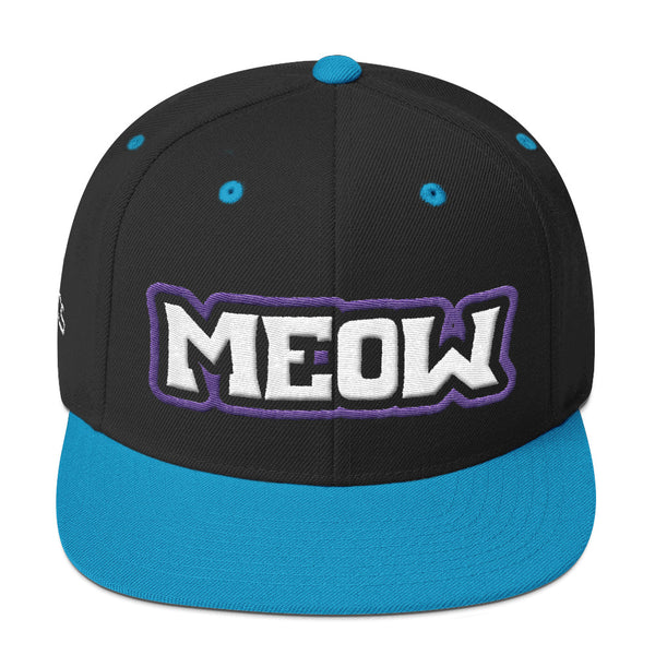 Meow Snapback Hat