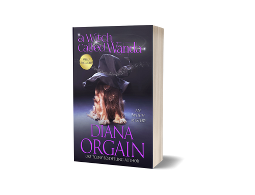A Witch Called Wanda (Book 1 in the iWitch Mystery Series) PRINT EDITION - Diana Orgain