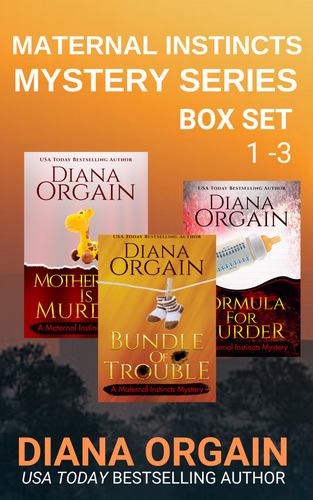 Maternal Instincts Mystery Series Box Set 1-3 - Diana Orgain