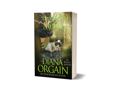 Brewing up Murder (Book 3 in the iWitch Mystery Series) PRINT EDITION - Diana Orgain
