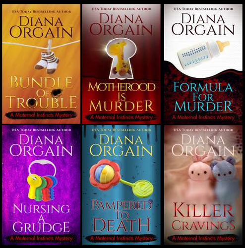 The Complete Maternal Instincts Mystery Series Box Set only $19.99 - Diana Orgain