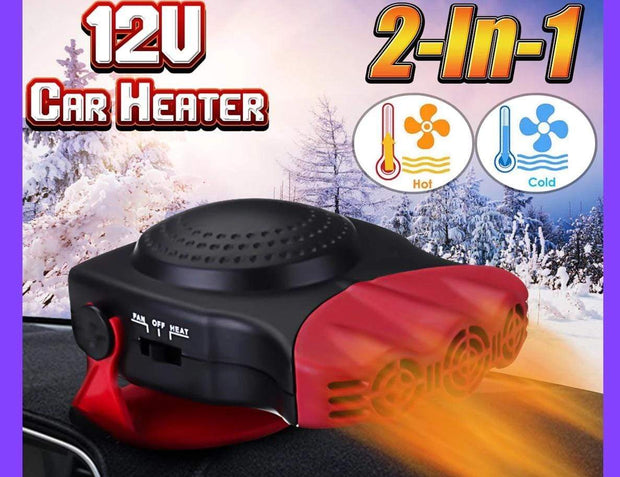【YEAR-END SALE】Car Upgrade Windshield Defroster 2-In-1 Multifunction