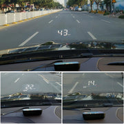 New M7 2 In 1 Car Hud OBD On-board Computer GPS Head-up Display For All Vehicles Speedometer Windshield Projector
