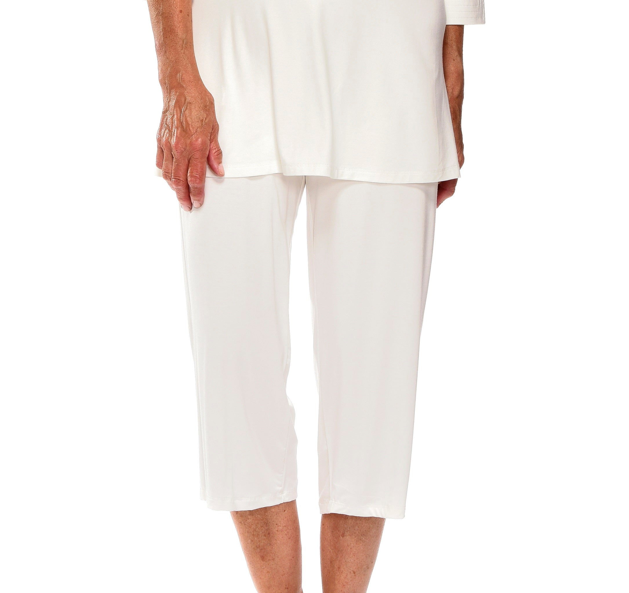 Bamboo Cropped Pants