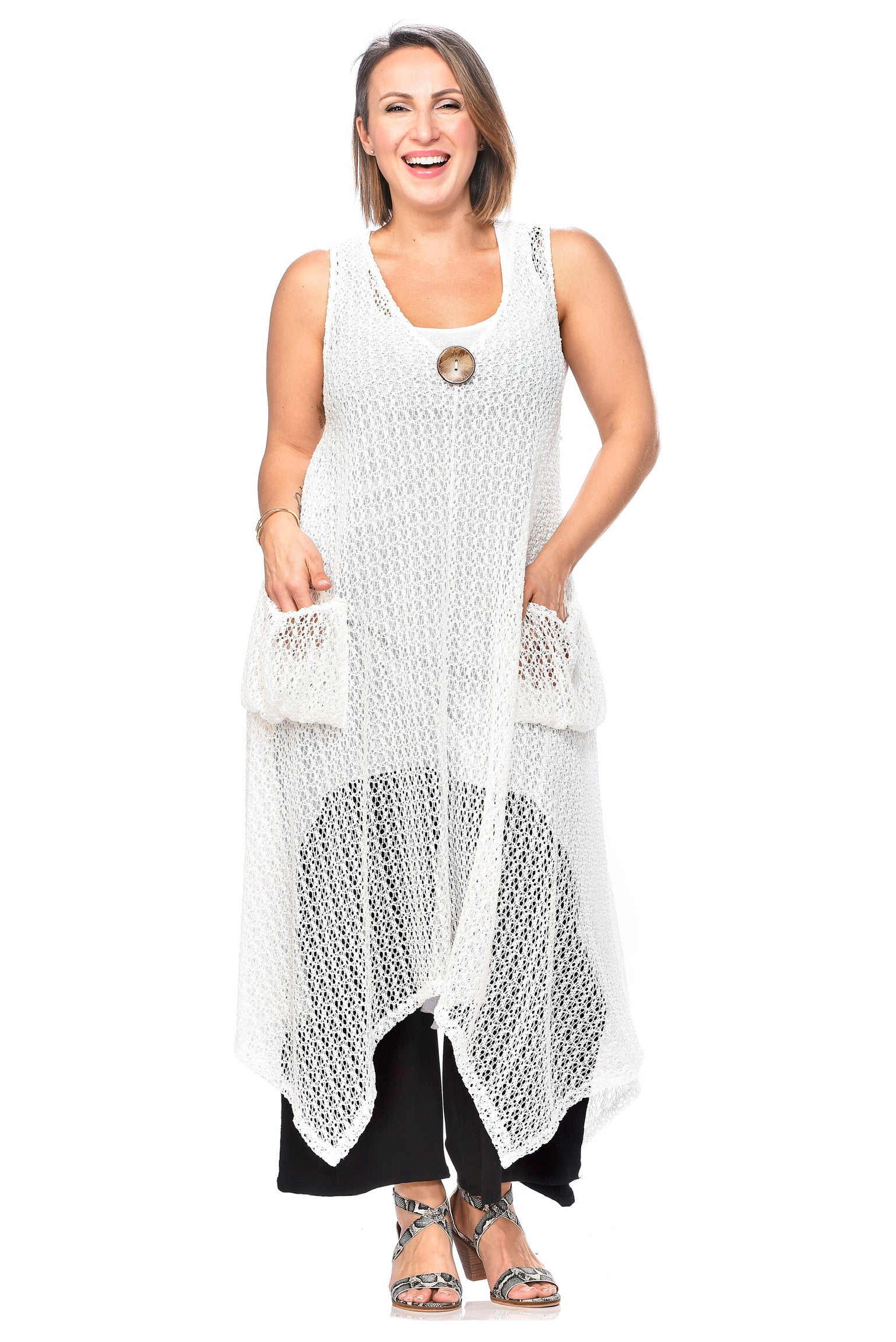 Pocketed Mesh Coverup