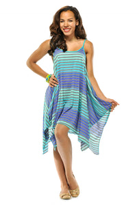 Ombre Striped Dress