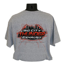 Load image into Gallery viewer, Big City Thunder T-Shirt, Gray