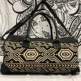 Aztec Overnight Leather Bag