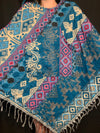 Paisley Triangle Ponchos