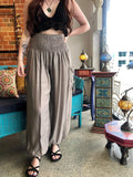 Alibaba Pants - Grey Plain