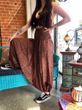 Harem Pants -  Brown Mandala