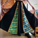 Multi Panelled Skirt