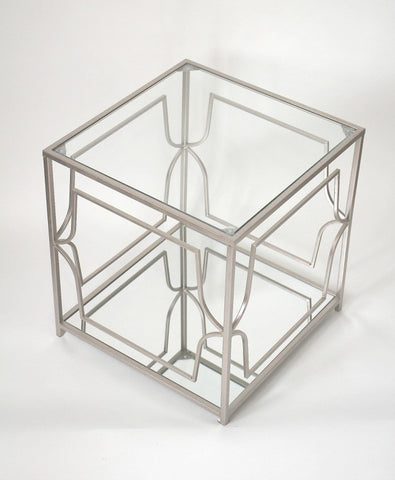 Out-of-Sight Cube Side Table