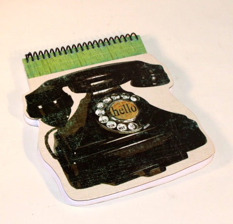 "Old Fashioned ""Tele"" Notepad"