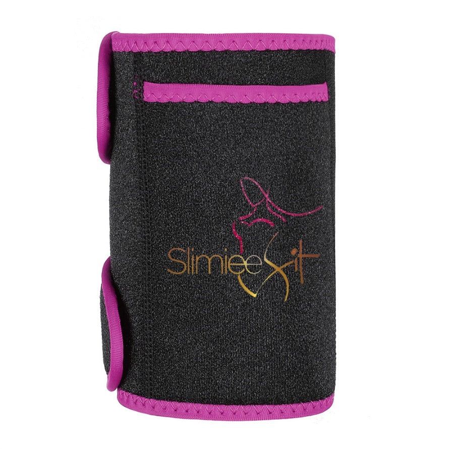 Arm trainer with black or pink accent and Velcro closure - Slimiee Fit