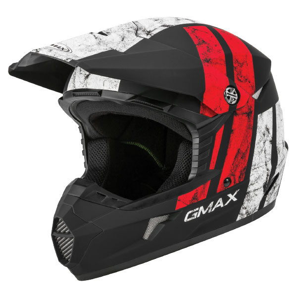 GMAX MX46Y Dominant Red/Black/White by Alpine Powersports