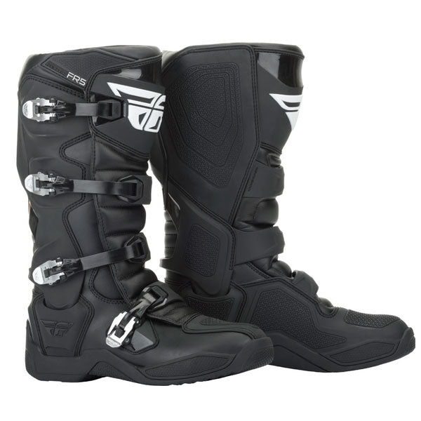 Fly Racing FR5 MX Boots White / Black