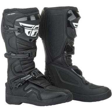 Fly Racing Maverik Boot Black / White / Red / HiVis