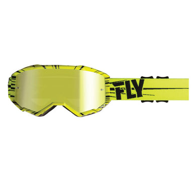 Fly Racing Zone Goggles Yellow/Black by Alpine Powersports