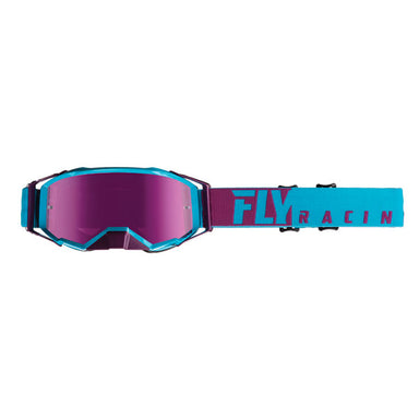 Fly Racing Zone Pro Goggle Purple/Blue by Alpine Powersports