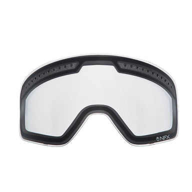 Dragon NFX Clear Double Snow Lens by Alpine Powersports