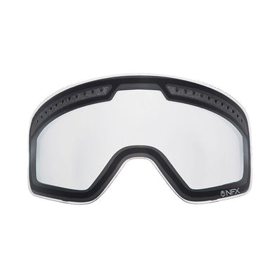 Dragon NFXS Clear Doule Snow Lens by Alpine Powersports