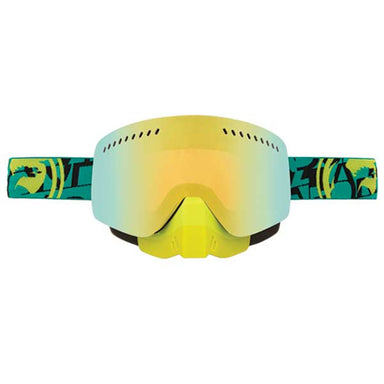 Dragon NFXS Cast/Smoke Gold ION Snow Goggles by Alpine Powersports