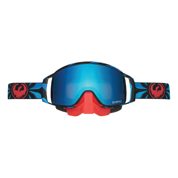 Dragon NFX2 Factor/Blue Steel Snow Goggles by Alpine Powersports