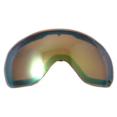 Dragon X1S Gold ION Snow Lens by Alpine Powersports