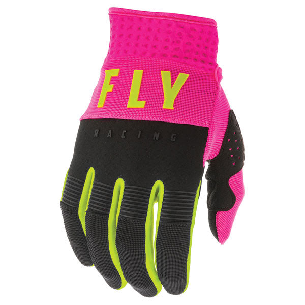 Fly Racing F-16 MX Glove Black / Red / Blue / Orange / Pink