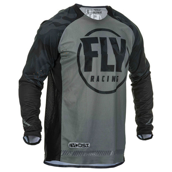 Fly Racing Evolution Jersey Grey / Red / Green