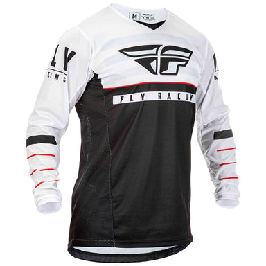 Fly Racing Kinetic K120 Jersey White / Blue / Green / Orange / Rock Star