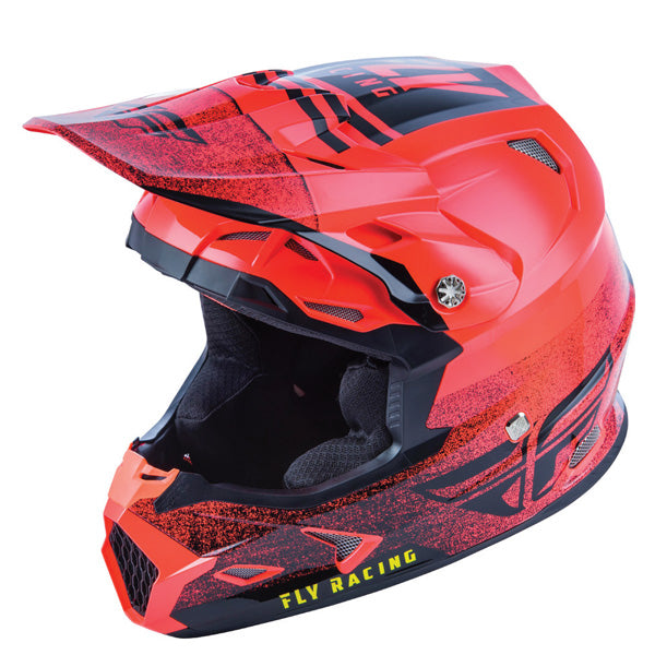 Fly Racing Toxin Embargo Helmet - With MIPS Blue / Pink / White / Red / Green