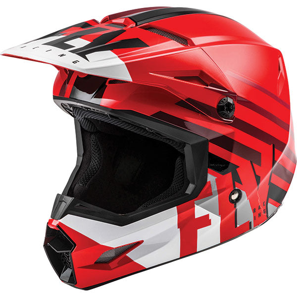 Fly Kinetic Thrive Youth Helmet Red by Alpine Powersports