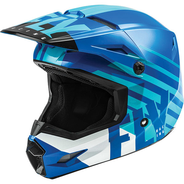 Fly Kinetic Thrive Youth Helmet Blue by Alpine Powersports