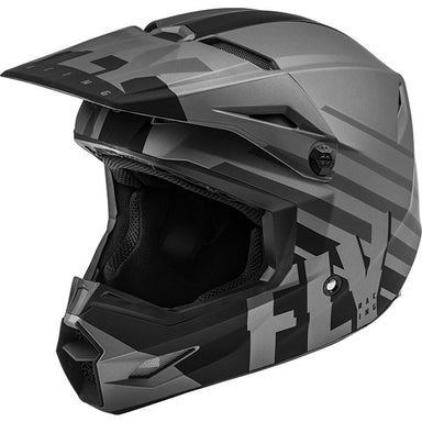 Fly Kinetic Thrive Youth Helmet Black by Alpine Powersports