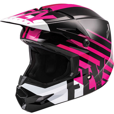 Fly Kinetic Thrive Youth Helmet Pink by Alpine Powersports