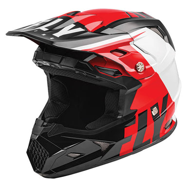 Fly Racing Toxin Transfer Helmet Blue / Red / Grey