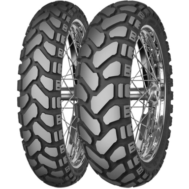 Mitas E-07+ Dakar & Standard Rear Tire - 40% Off-Road 60% On-Road