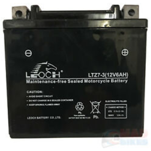 EBZ7S ATV / Motorcycle AGM Battery by Alpine Powersports
