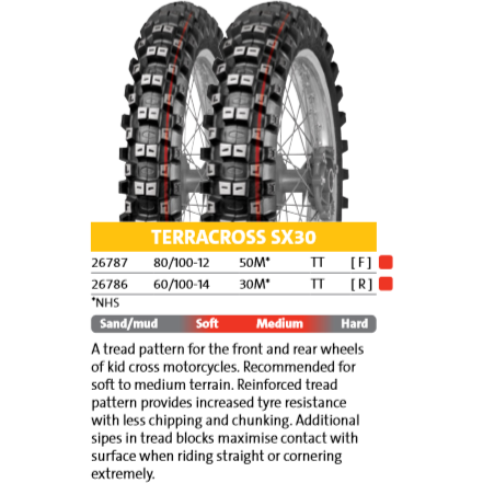 Mitas Terracross SX30 Junior MX Off-Road Tire