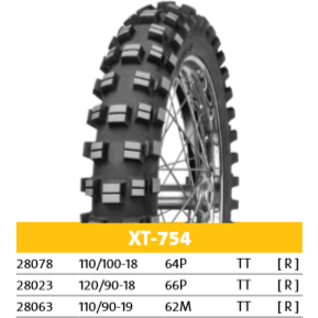 Mitas XT-754 Off-Road Motorcycle Tire