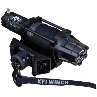 KFI Assault 5000 lb Wide Winch by Alpine Powersports