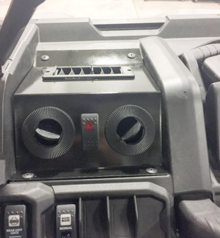 UPI Heater for Can-Am Defender - (Hidden Direct-Fit - With Defrost Vents)