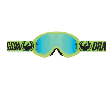 Dragon MX Youth Goggles Break Green | Alpine Powersports